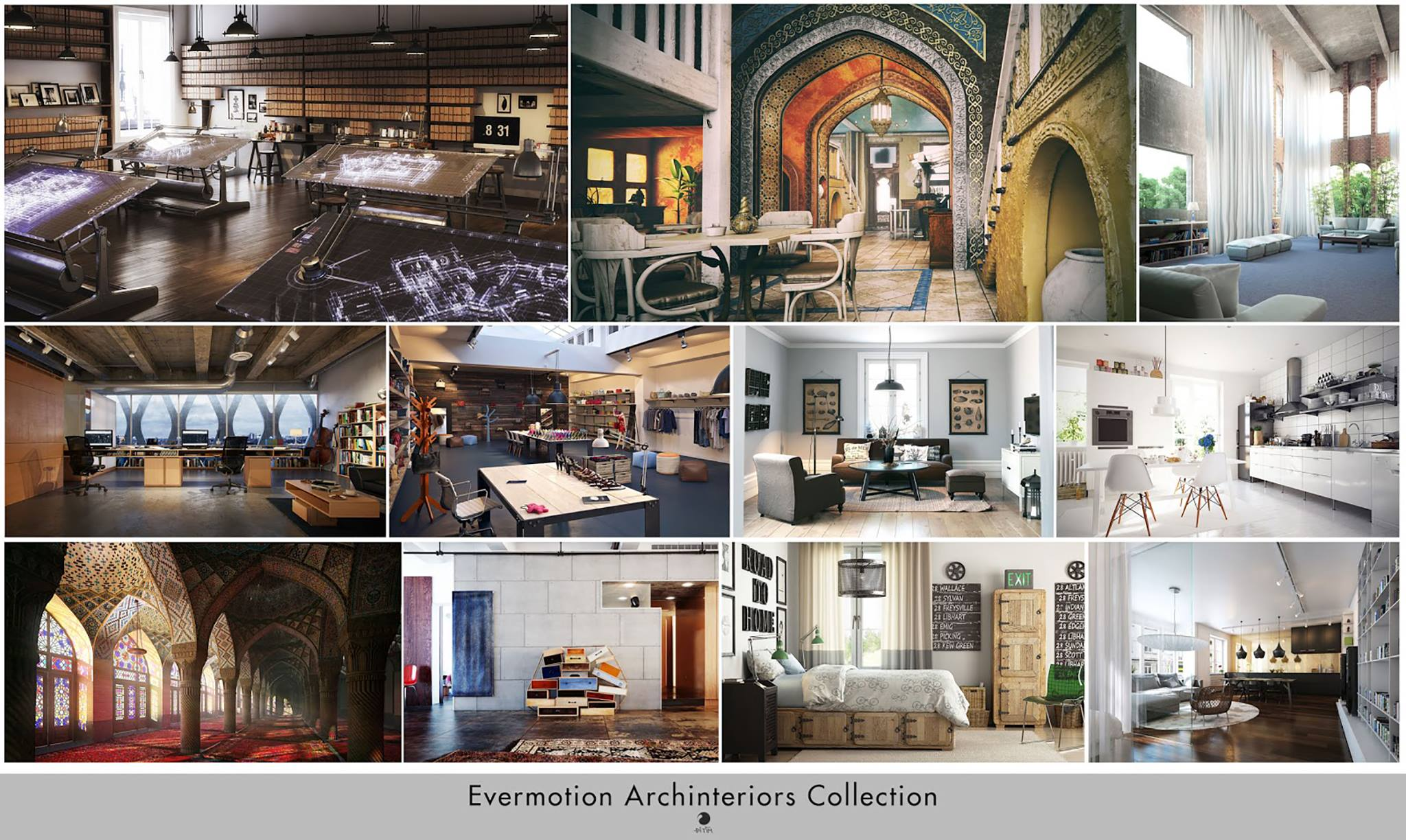 [ 3dsmax ] Evermotion Archinteriors Collection