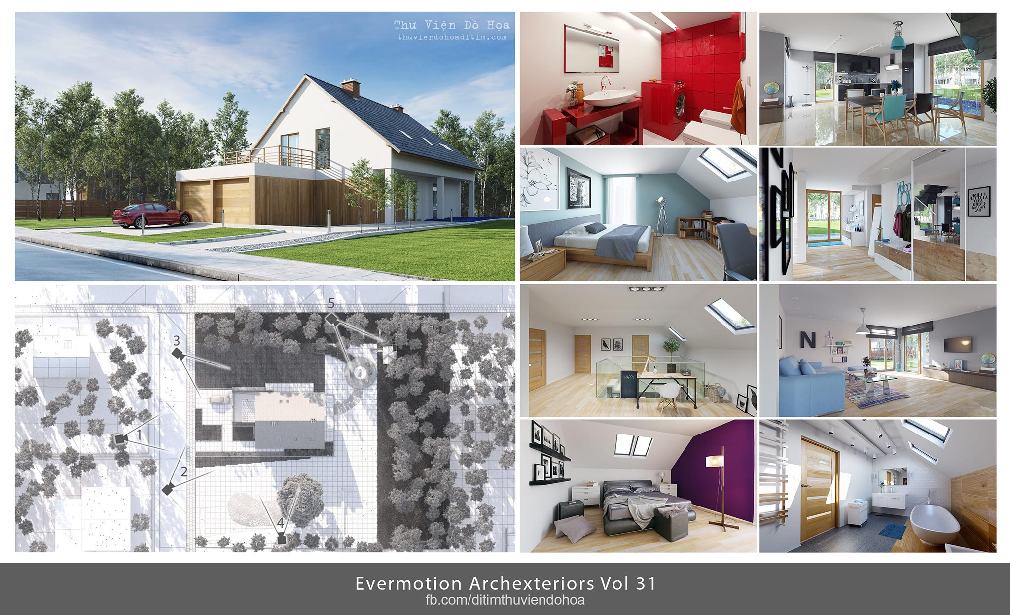 Evermotion Archexteriors Vol 31