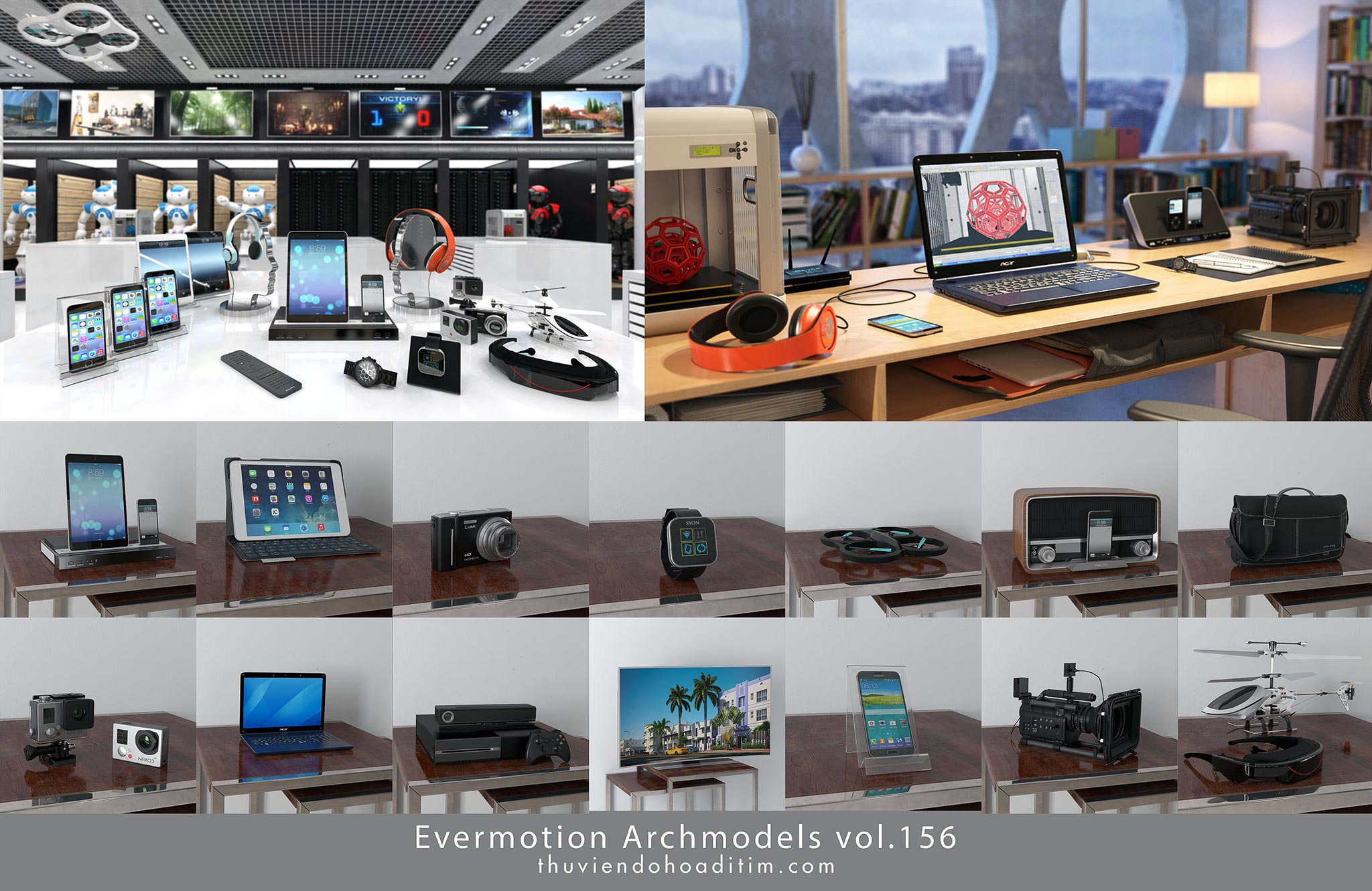 Evermotion Archmodels vol.156