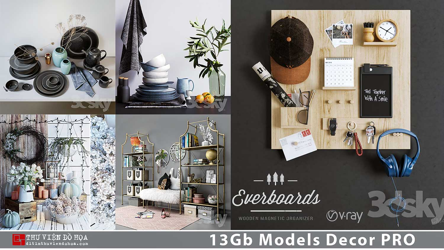 13Gb Models Decor PRO share by DitimStudio