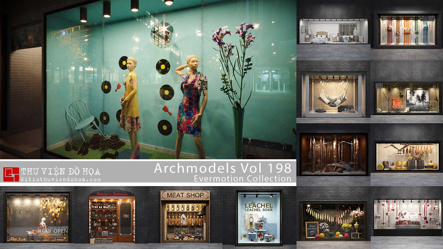 Evermotion Archmodels Vol 198