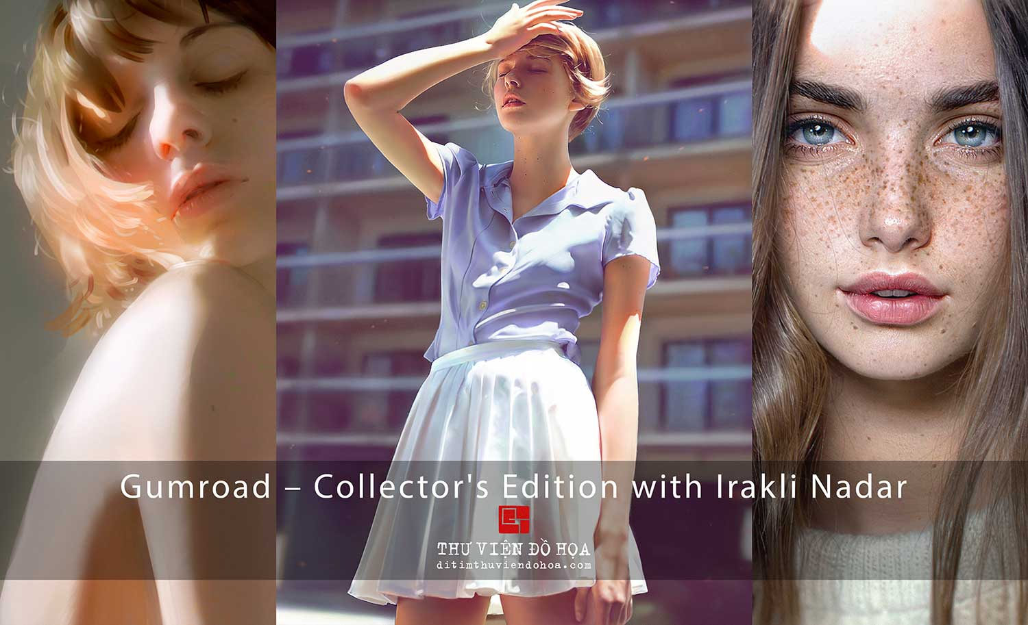 [ Tutorials ] Gumroad – Collector's Edition with Irakli Nadar | Vẽ bằng Photoshop
