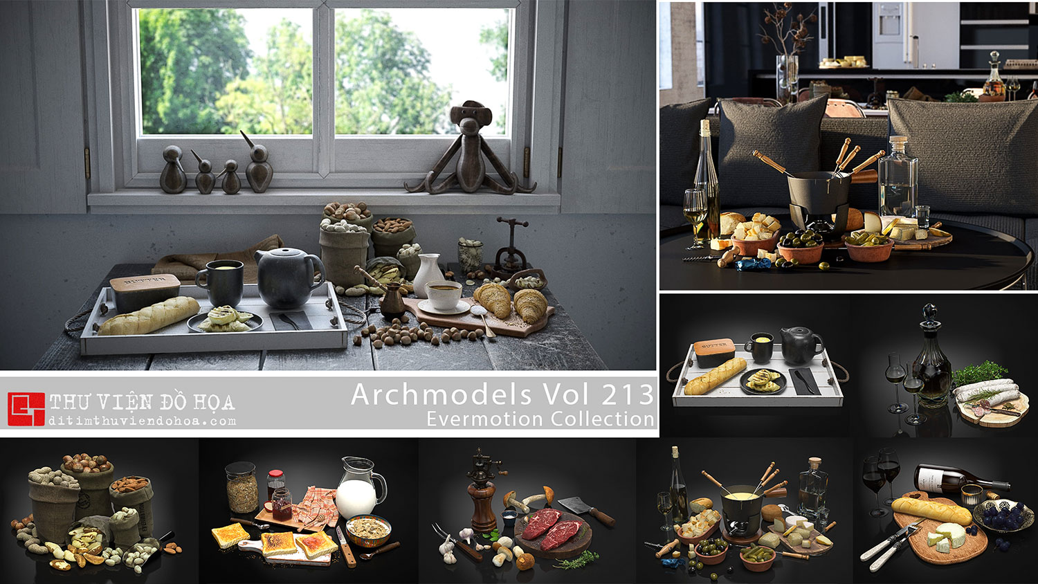 Evermotion Archmodels Vol 213