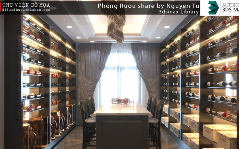 3dsmax Library - Phong Ruou share by Nguyen Tu