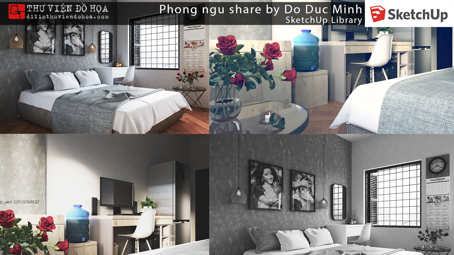 Sketchup Library - Phong ngu share by Do Duc Minh