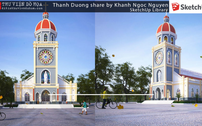 Sketchup Library – Thanh Duong share by Khanh Ngoc Nguyen