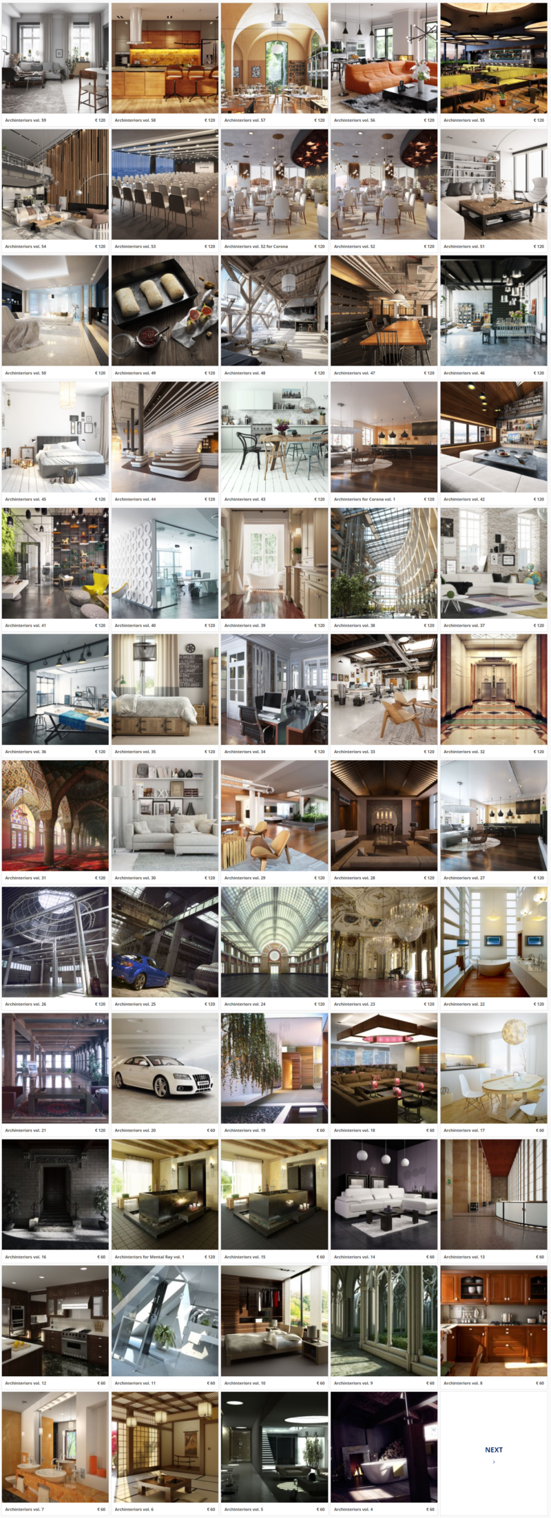 Evermotion Archinteriors Full Collection   File Nội thất 3dsmax Full Setting - Ánh sáng